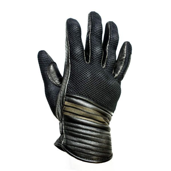Helstons Corporate Mesh Black Summer Glove