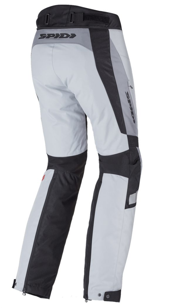 Spidi H2OUT Traveler 2 CE Mens Grey Waterproof Textile Trousers