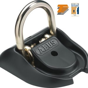 Abus WBA 100 Granit Ground/Wall Anchor Black
