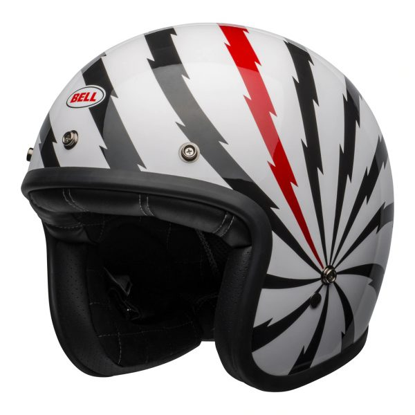 Bell Cruiser Custom 500 SE Black/Red/White Open Face Helmet